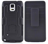 For Samsung Galaxy Note Shockproof / with Stand Case Back Cover Case Armor PC Samsung Note 4 / Note 3 / Note 2