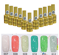 Sugar Gel Nail Polish UV Gel 24 Colors 12 ml Gel Long Lasting Nail Polish Enamel Nail Varnish