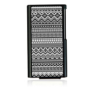 Geometric Pattern Leather Vein Pattern Hard Case for iPod Nano 7