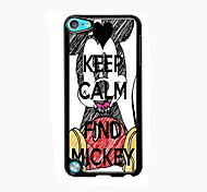 Keep Calm and Find Mickey Design Aluminum High Quality Case for iPod Touch 5