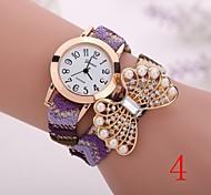 2015  New Fashion  Women Watches Gold Wristwatch Ladies Quartz Watches Geneva   Flower  Bracelet XR1273