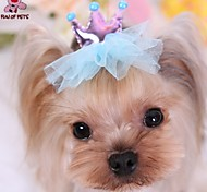 Cat / Dog Hair Accessories / Hair Bow / Clothes/Clothing Red / Blue / Purple Spring/Fall Wedding / Cosplay