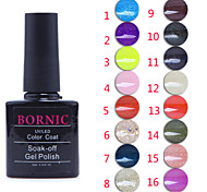 lentejuelas de color ultravioleta del clavo gel no.1-16 polaco (10 ml, colores surtidos)