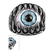 Ring Jewelry Stainless Steel Statement Jewelry Black Jewelry Halloween Daily Casual 1pc