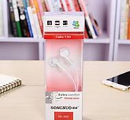 auriculares de moda directos de plug-in