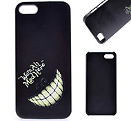 Tooth Pattern PC Material Cell Phone Case for iPhone 5C