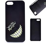 diente pattern pc caja del teléfono celular material para 5c iphone