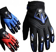 RACING Motorcycle/Racing/Riding/Bike Gloves Drop Resistance Full Finger Gloves for Men And Women M/L/XL Red/Black/Blue