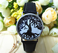 Fashion Women Watch Leisure Students Wrist Watch Tree Watch Quartz Watch Cool Watches Unique Watches