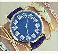 Ladies Lovely Floral Watch,Floral Pattern,Ladies Watch,Analog,Students Flower Watch Wristwatch