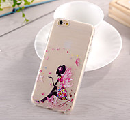 Fairy Pattern TPU Soft Case for iphone 6
