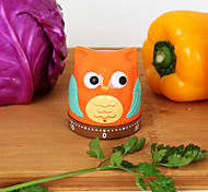 Owl Pear Shaped Timer 60 mins Analog Kitchen Timer
