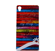 Colors of Rainbow Pattern TPU Soft Case for Sony Xperia Z3