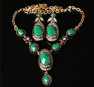 Z&X® Western Style Fashion Ellipse Alloy Jewelry Set Party/Casual 1set