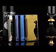 venda topo cores sólidas espelho de corpo inteiro de luxo caso difícil para galáxia A8 / A7 / A5 (cores sortidas)