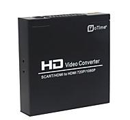 oTime® OT-8S HDMI + SCART to HDMI Converter - Black