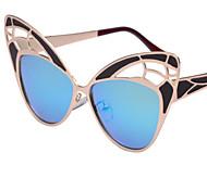 Sonnenbrillen mujeres's Elegant / Modern / Modisch Katzenauge Gold Sonnenbrillen Vollrandfassung