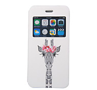 Scented Giraffe Pattern Windows Phone Holster for iPhone 6