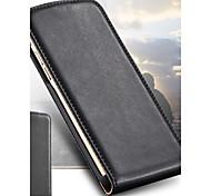 Caso de couro do vintage 2015 de luxo para iphone 6 4,7 polegadas cima e para baixo de abertura da tampa saco telefone flip magnética para