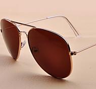 Sunglasses Men / Women / Unisex's Elegant / Retro/Vintage / Modern Flyer Black / Silver / Purple / Blue Sunglasses Full-Rim