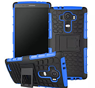 Mix Color TPU&PC Heavy Duty Armor Stand Case for LG G3/G4 (Assorted Colors)