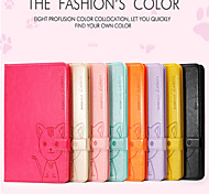 Hot//Domicat beautiful cartoon leather cover case  for Ipad Air