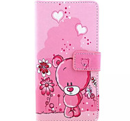Cubs Pattern PU Leather Phone Case For Huawei P8