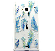 Blue Feather Feel Comfortable TPU Case for Nokia N435/N535/N640