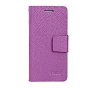 uwei Rindsleder Brieftasche voller Körpergehäuse intelligente Halterung für HTC One m7