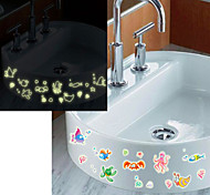 Multifunction Fluorescence DIY PVC Underwater World Decorative Stickers