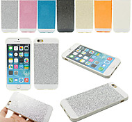 Soft Bling Glitter Silicone Rubber Fashion Back Case Cover for iPhone 5/5S(Assorted Colors)+Phone Holder Gift
