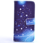 Star Pattern PU Material Card Full Body Case for Samsung GALAXY S6 / S6 edge/ S5/S3Mini/S4Mini/S4