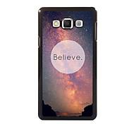 Believe Design Aluminum High Quality Case for Samsung Galaxy A3/A5/A7/A8