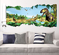 2015 New ZooYoo ® 1460 Dinosaurs Wall Stickers jurassic Park Home Decoration