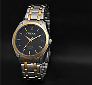 Aidu New Man's High Quality Steel Belt Quartz  Waterproof Watch