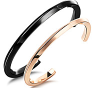 High Quality Stainless Steel Vacuum Plating 24 K Gold Bracelet