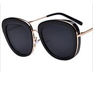 Sunglasses Women's Elegant / Modern / Fashion Cat-eye Black / Purple / Blue Sunglasses Full-Rim