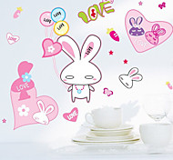 Multifunction DIY PVC Cute Bunny Decorative Stickers