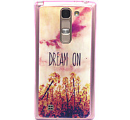 Pink Sky Dream On Pattern TPU Acrylic Soft Case for LG Magna/ LG Leon