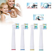 4pcs A Set Replacement Electric Toothbrush Heads Soft-bristled EB-25A for Oral B