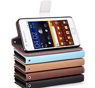 uwei pu Brieftasche voller Körperkasten mit Standplatz für Samsung Galaxy S2