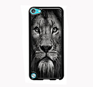 visage de lion design en aluminium cas de haute qualité pour iPod touch 5