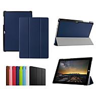 10.8''pu dengpin tablet rivestimenti pelle custodia protettiva con supporto per Microsoft Surface 3 (colori assortiti)