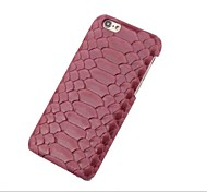 Heshishi serpentine head layer cowhide apple mobile phone protection shell  for iPhone 6 Assorted Color