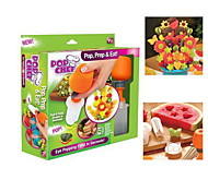 Pop Chef Food Decorator Create Shapes in Seconds Kitchen Fun