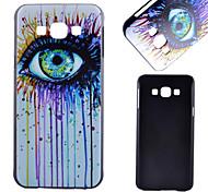 vidros da cor padrão pc material do caso de telefone celular para samsung galaxy a8