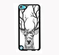 alumínio design dos cervos caso de alta qualidade para o iPod touch 5