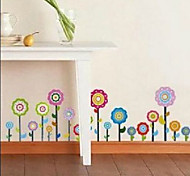 Multifunction DIY PVC Sunflower Pattern Decorative Stickers
