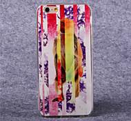 tpu del patrón del mono de acrílico color de la cubierta suave para el iphone 6 más