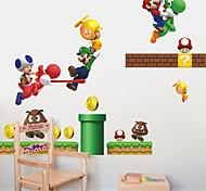 наклейки стены стиль наклейки Марио пвх стены стикеры